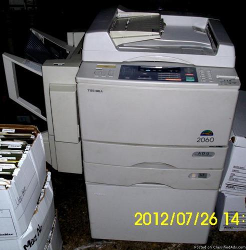 Toshiba Model 2060 Copy machine - Price: $75