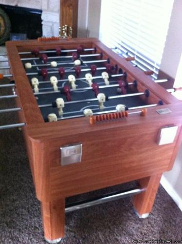 TSA Foosball table - Price: 145
