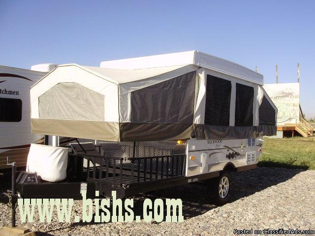 Used 08 Rockwood Tent trailer / Toyhauler  Price: 10999 in Idaho