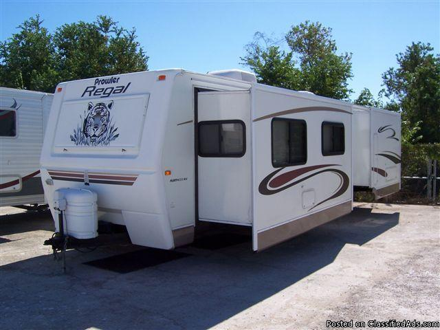 Used 2004 Fleetwood Prowler Regal Travel Trailer Price 16500 17229779 on prowler auctions