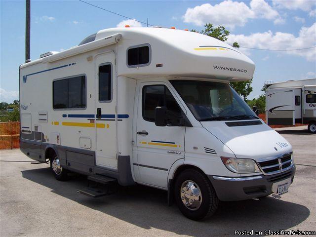 Used 2006 Winnebago View Class B Diesel Motorhome - Price ...