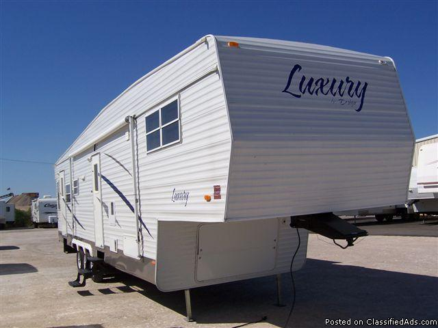 used 2009 luxury by design 5th wheel travel trailer price 27900 in