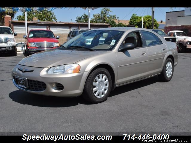 Used cars in OC 2003 Chrysler Sebring LX, 1-Owner Clean Carfax, Low miles, For sale in Fullerton