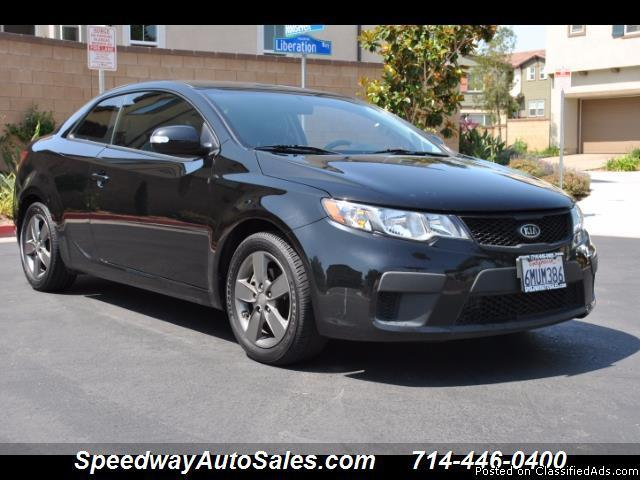 Used cars near me 2010 Kia Forte Koup EX, 1 Owner Clean Carfax, For sale in Fullerton