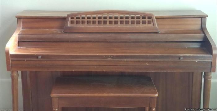 Used Kimball Whitney Piano