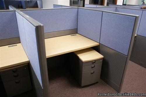 Used Office Cubicle Teknion Clone Price 365 In Santa