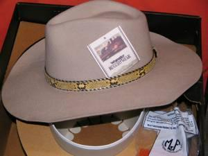 Very Nice Western Cowboy Hat....Wrangle .....Made In Texas
