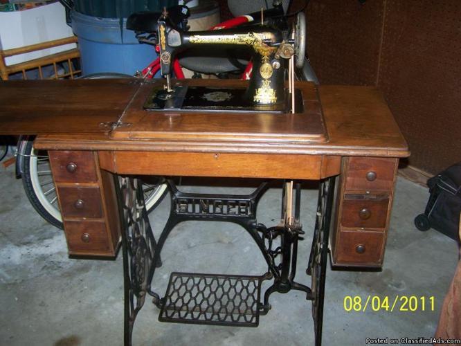 vintage singer sewing machine price