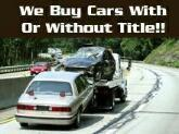 We buy junk cars with or without title
