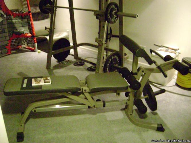 Weight lifting bench, Powerhouse strength series - Price: 175.00