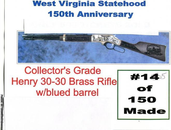 West Virginia Statehood 150th Anniversary Collector's grade Henry 30-30