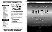 Writing A Book? A unique listing of major and new Black influences in the Media! - Price: 89.95 + 6.75 ship