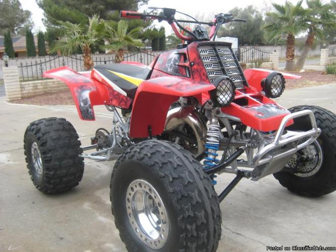 yamaha banshee- 4 mill sroker rebiult- 1 hour on motor!!! - Price: 4200.00