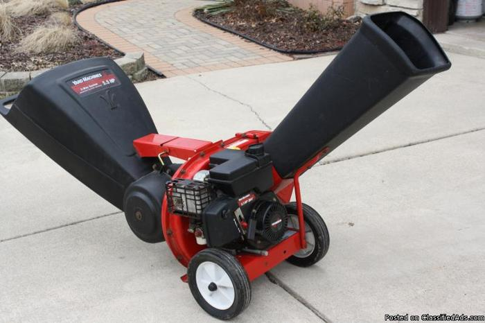 yard machine chipper shredder