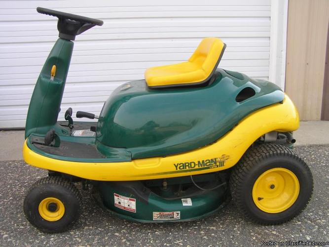 Yard Man Yard Bug Riding Mower 9 Hp Price 400 In